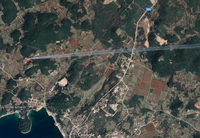 Не знаю, может в ГУГЛ Мапс это частое явление, но я увидел в первый раз) Google Maps, Самолет, Споттинг, Скриншот