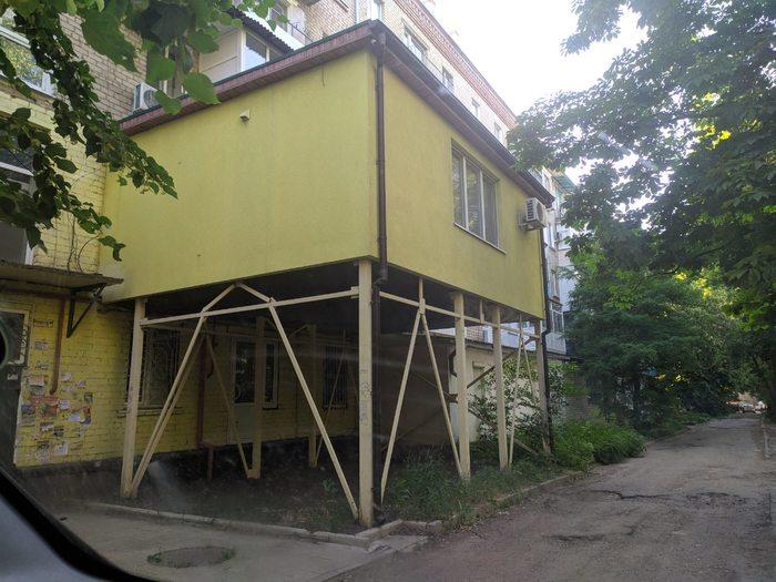 Когда хочется балкон чуть побольше чем у других Самострой, Балкон, Луганск, Пристройка