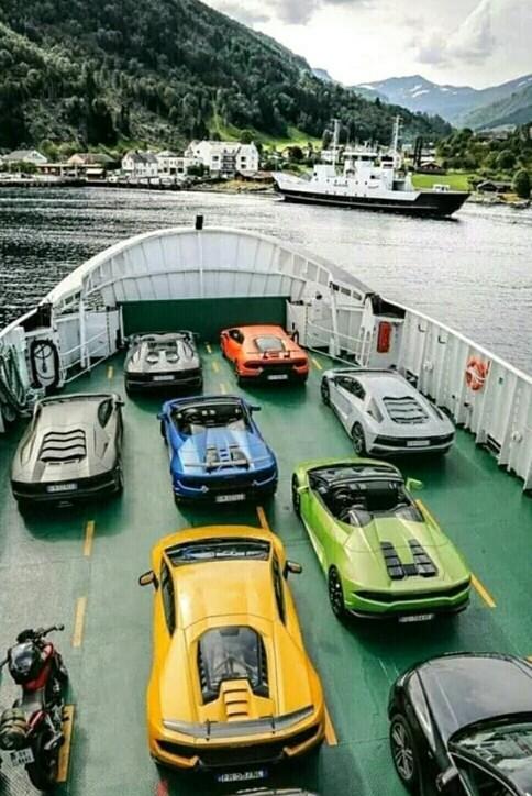 Шикарный груз! Sealand, Моряки, Море, Авто