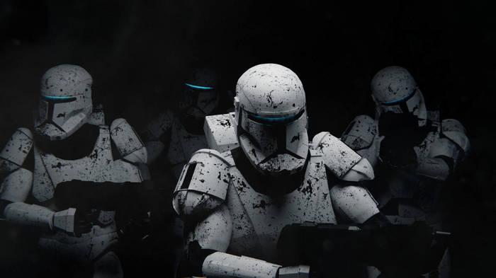 Небольшая подборка артов по Star Wars Star Wars, Вуки, Штурмовик, Империя, Звезда смерти, Старфайтер, x-Wing, Арт, Длиннопост