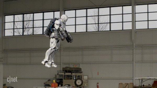 Адам Сэвидж (Разрушители мифов) собрал костюм железного человека Адам Сэвидж, 3D принтер, Железный человек, Разрушители мифов, Гифка