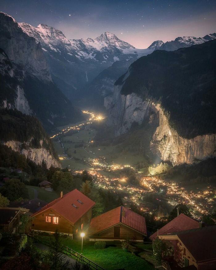 Венген Швейцария, Горы, Пейзаж, Фотография, Красота
