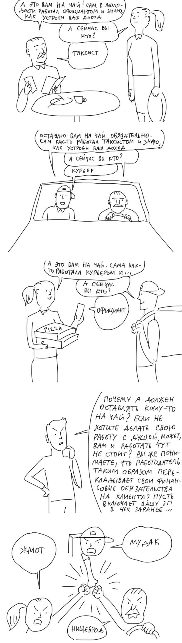 На чай Чаевые, Duran, Комиксы, Длиннопост