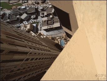 Прыжки на крыше