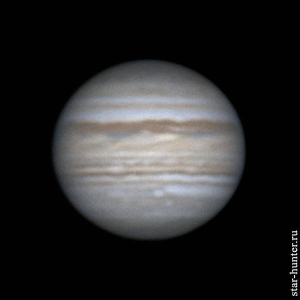 Юпитер, 23 июня 2019 года, 21:31 Юпитер, Планета, Астрофото, Астрономия, Космос, Starhunter, Анападвор, Гифка, Длиннопост