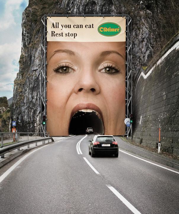 Подборка самой креативной рекламы в мире Реклама, Топ, Подборка, Креатив, Длиннопост, Билборд