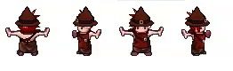 Universal LPC Spritesheet Character Generator Разработчики игр, Инструменты, 2d, Pixel Art, Гифка