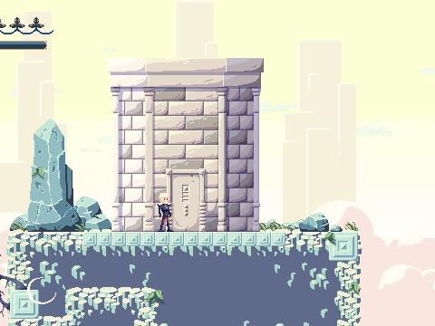 Kingdom Shell интерфейсы Metroidvania, Platformer, Ретро-Игры, Gamedev, Инди, Pixel Art, Пиксель, Гифка