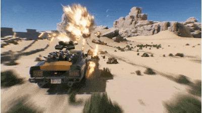 Не тормозим в Diesel Guns