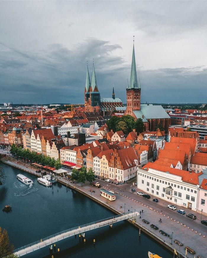 Любек фото города