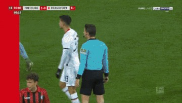 Когда тренер сказал, что ты плохо играешь Футбол, Чемпионат Германии, Фол, Грубость, Гифка, Видео