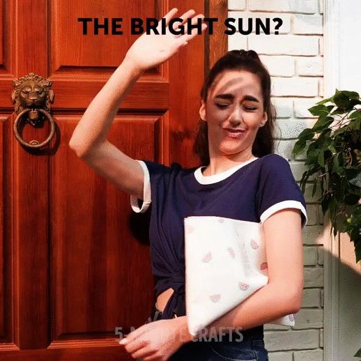 Мешает солнце? Пользуйся!