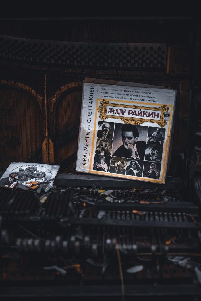 Звенящая тишина Ужупис, Вильнюс, Музыка, Фотография, Пианино, Заброшенное, Длиннопост