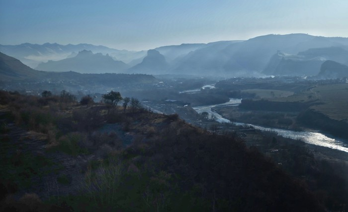 Ноябрьская Кубань Фотография, Кубань, Кавказ, Осень, Fujifilm