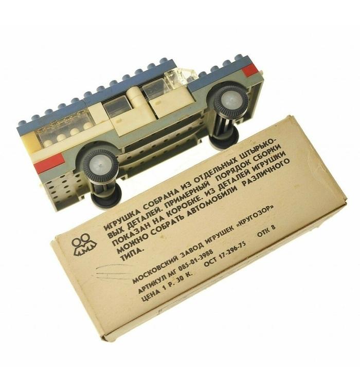Аналог LEGO времён Советского Союза