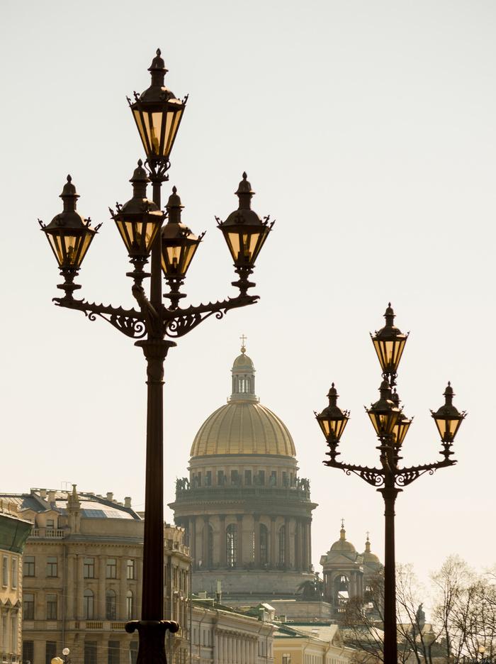 Красоты петербургских фонарей