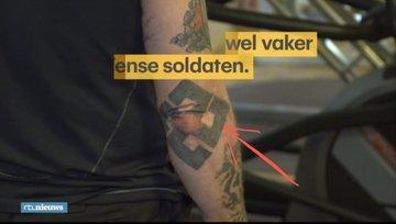 Голландский канал RTL взял интервью у укр.солдата Димы Гержана (кличка Тритон), который потерял ногу во время похищения из ДНР Политика, Нацисты, ВСУ, Свастика, Украина, Владимир Корнилов