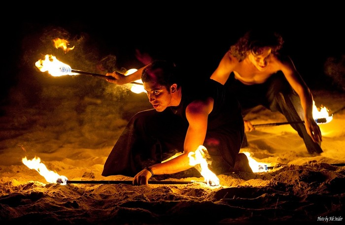 Ещё чуть чуть огня) Фотография, Файер, Файерщики, Wafest, Ночь, Длиннопост