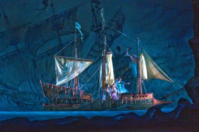 Про кораблик Бутафория, Театр, Корсары, Ручная работа, Корабль, Видео, Длиннопост