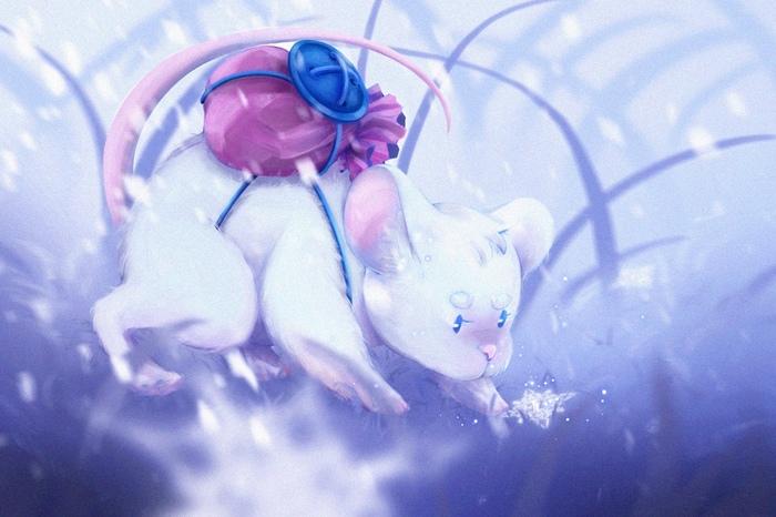 Зимняя мышка