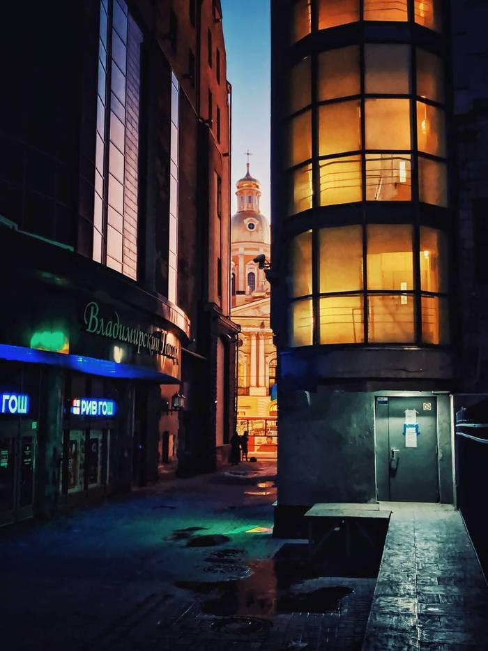 Утро на Владимирской Фотография, Город, Санкт-Петербург, Мобильная фотография