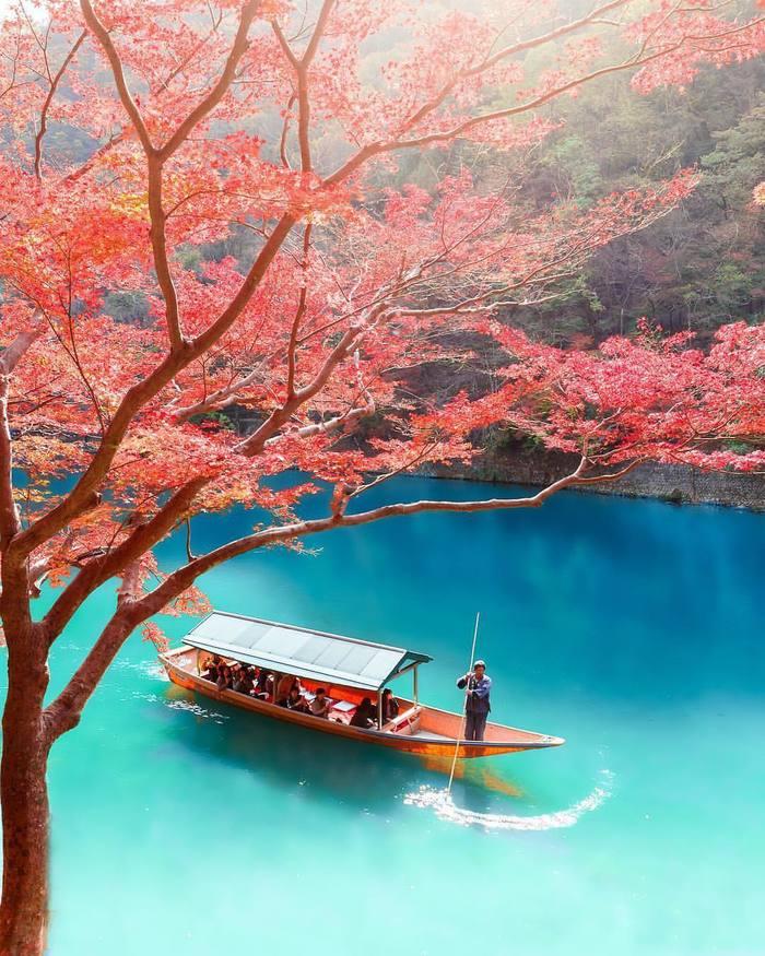 Река Кацура, Япония