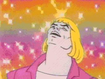 Netflix перевыпустит сериал Хи-Мен и Властелины вселенной He-Man, Netflix, Мультсериалы, Гифка