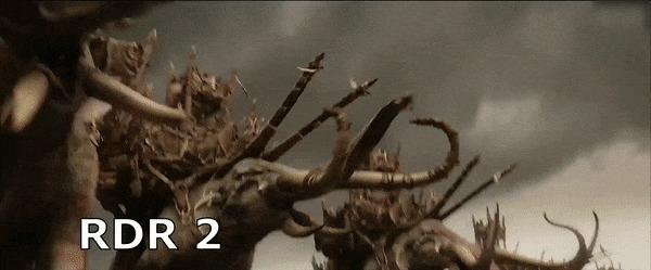 Кросс-платформенность Мат, Властелин колец, Red Dead Redemption 2, Death Stranding, Heavy rain, Detroit: Become Human, Гифка