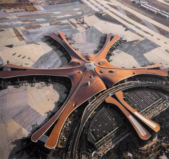 Самый крутой аэропорт в мире Китай, Аэропорт, Прогресс, Технологии, Дасин, Длиннопост