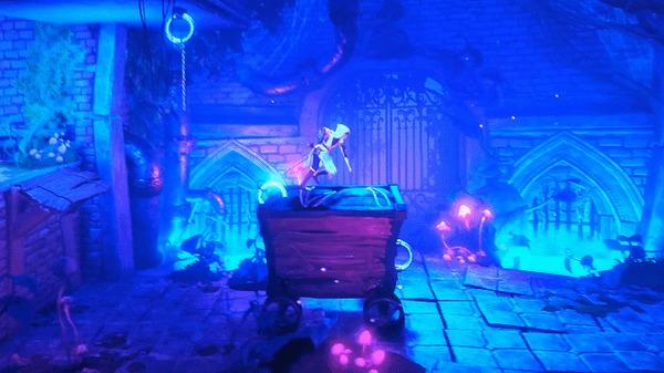 Выглядит логично Trine 4: The Nightmare Prince, Игры, Физика, Гифка