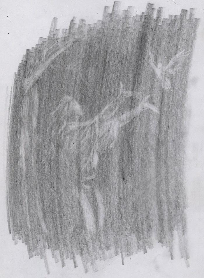 Рисунок ластиком
