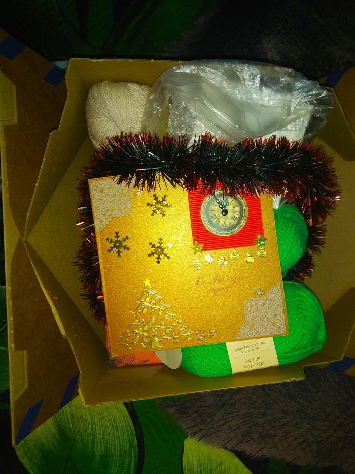 Новогодний обмен Тверь - Екатеринбург 2019/2020 Обмен подарками, Отчет по обмену подарками, Новогодний обмен подарками, Длиннопост