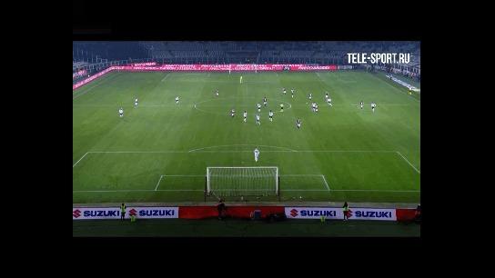 Супергол из Серии А Футбол, Италия, Серия А, Гифка