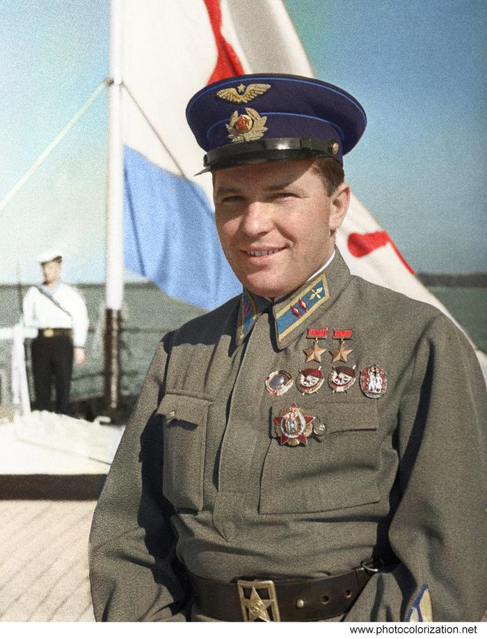 летчики вов герои советского союза оказывали