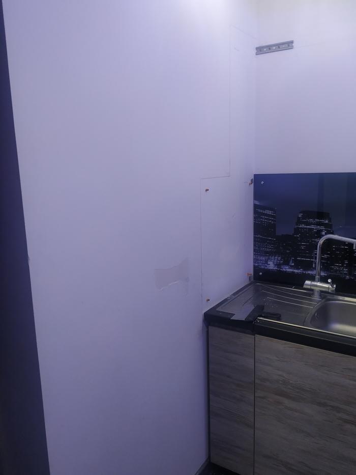 Стена для кухни