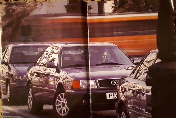 Ответ на пост Буклет Saab 9000