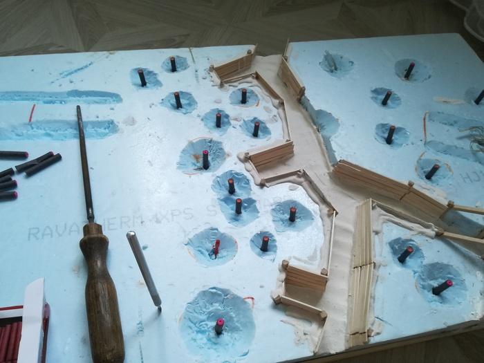Эксперимент по моделированию артобстрела