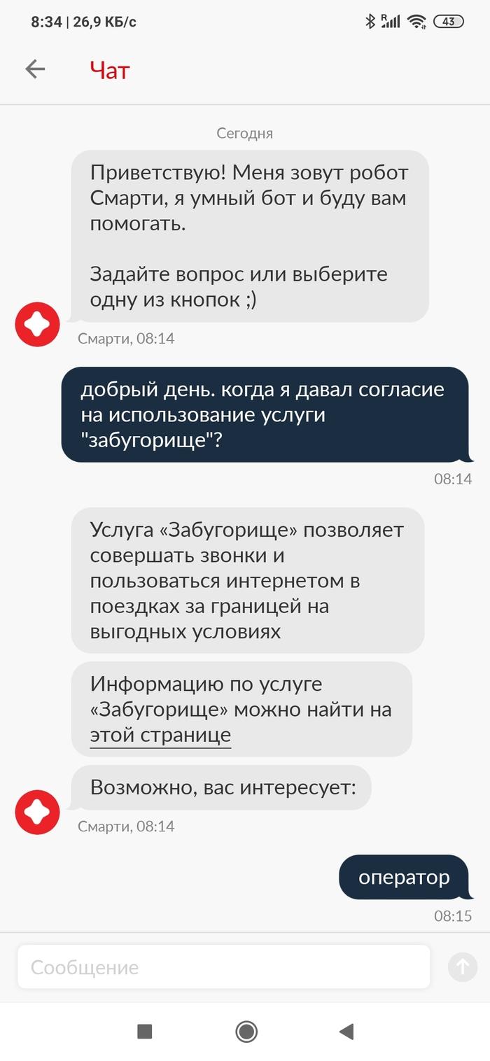 QuotЗабугорищеquot От МТС