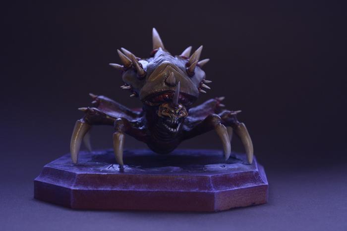 Делаем фигурку Скрытня (Lurker)StarCraft 2