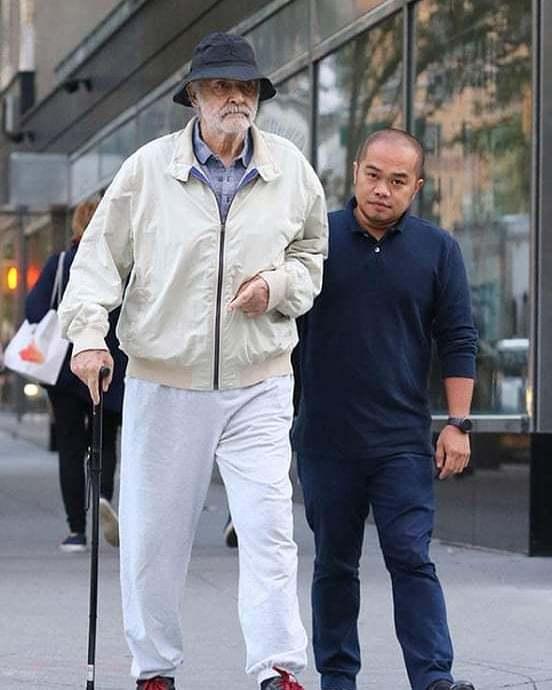 89-летний Шон Коннери