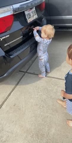 Автоматическое открывание багажника