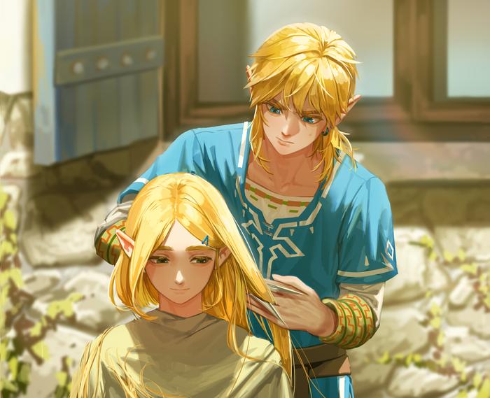 На самоизоляции рыцарю приходится стричь принцессу
