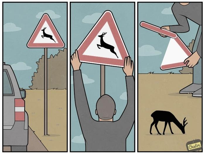 Свободу оленям !