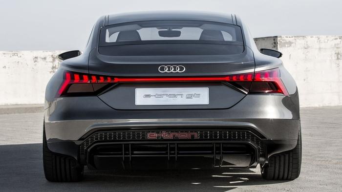 Следующий наследник «трона» — Audi e-tron GT Concept (2020) Авто, Автомобилисты, Audi, Концепт, Концепт-Кар, Электромобиль, Спорткар, Длиннопост