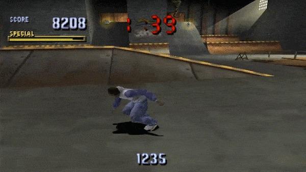 Чем был крут дизайн Tony Hawk's Pro Skater Xyz, Gamedev, Leveldesign, Игры, Tony Hawk, Гифка, Длиннопост