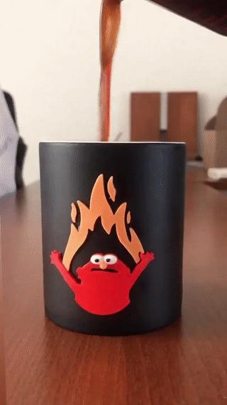 Кружка - огонь!