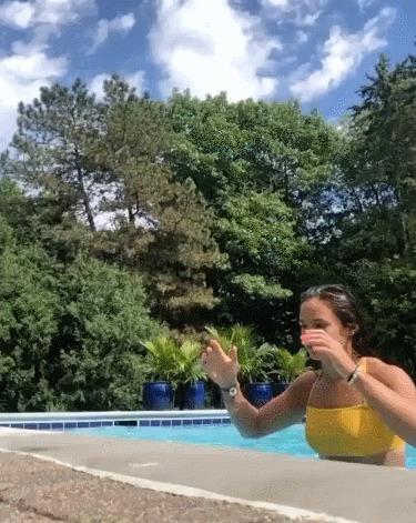 Прыжок из воды