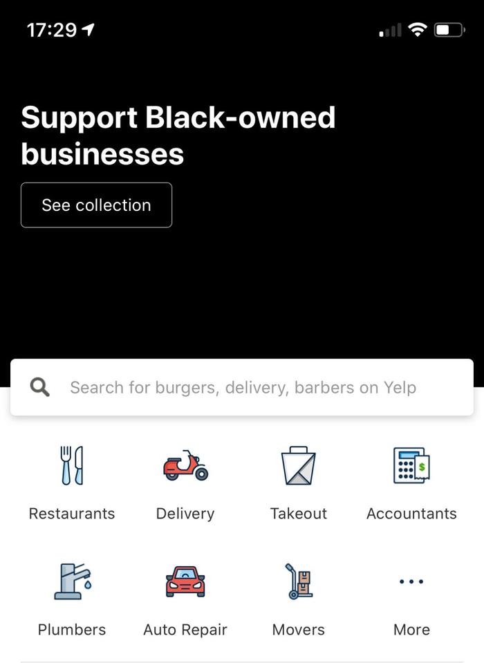 Поддержи черных владельцев