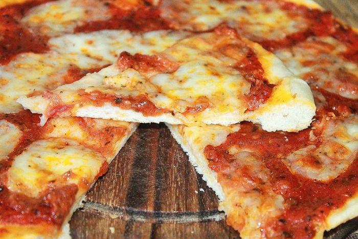 Пицца Маргарита в домашних условиях Пицца, Закуска, Рецепт, Выпечка, Еда, Кулинария, Блюдо, Длиннопост