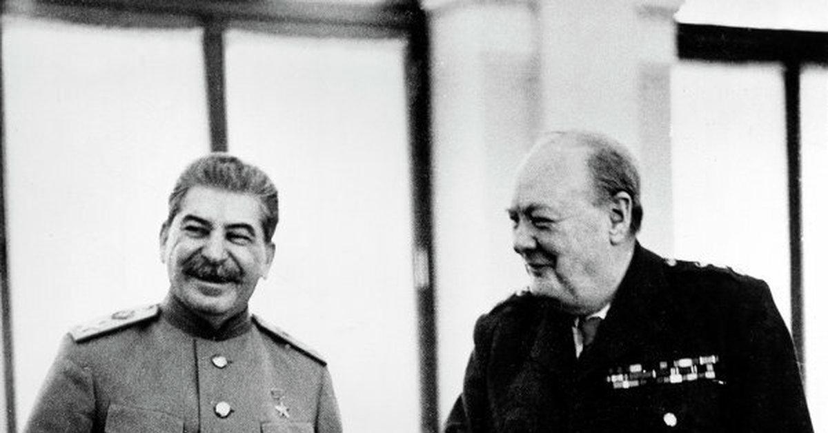Что на самом деле говорил Черчилль о Сталине